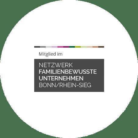 Mitglied Netzwerk familienbewusste Unternehmen Bonn/Rhein-Sieg