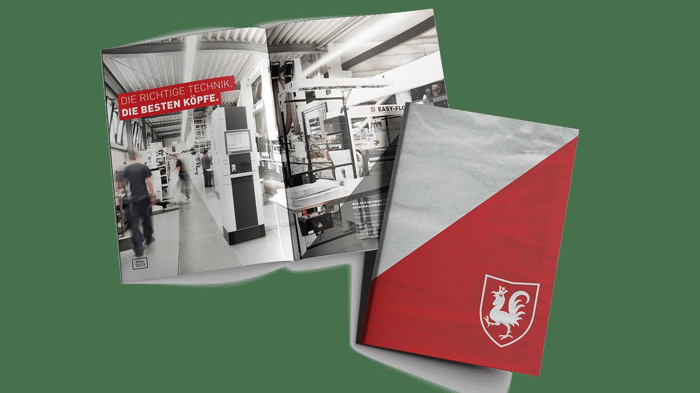 Unternehmensbroschüre Tenax Papiersackfabrik