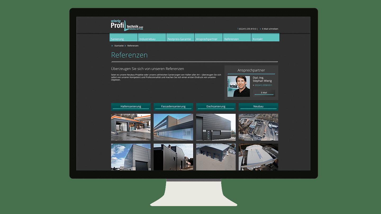 Wierig Profiltechnik Website Relaunch