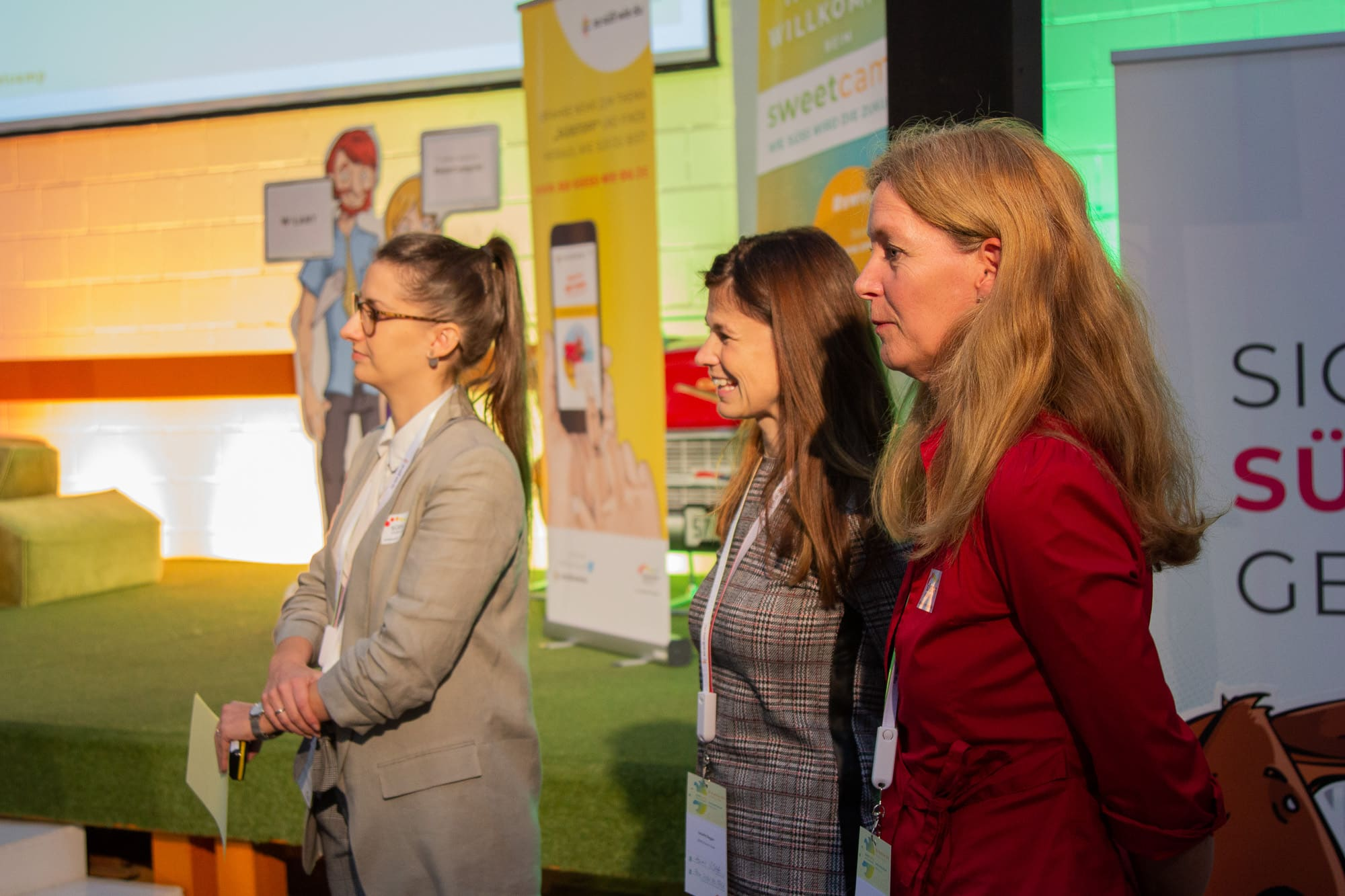 Sara Hoyer von rheinland relations beim Sweetcamp des Süßstoff-Verband, Eventmanagement