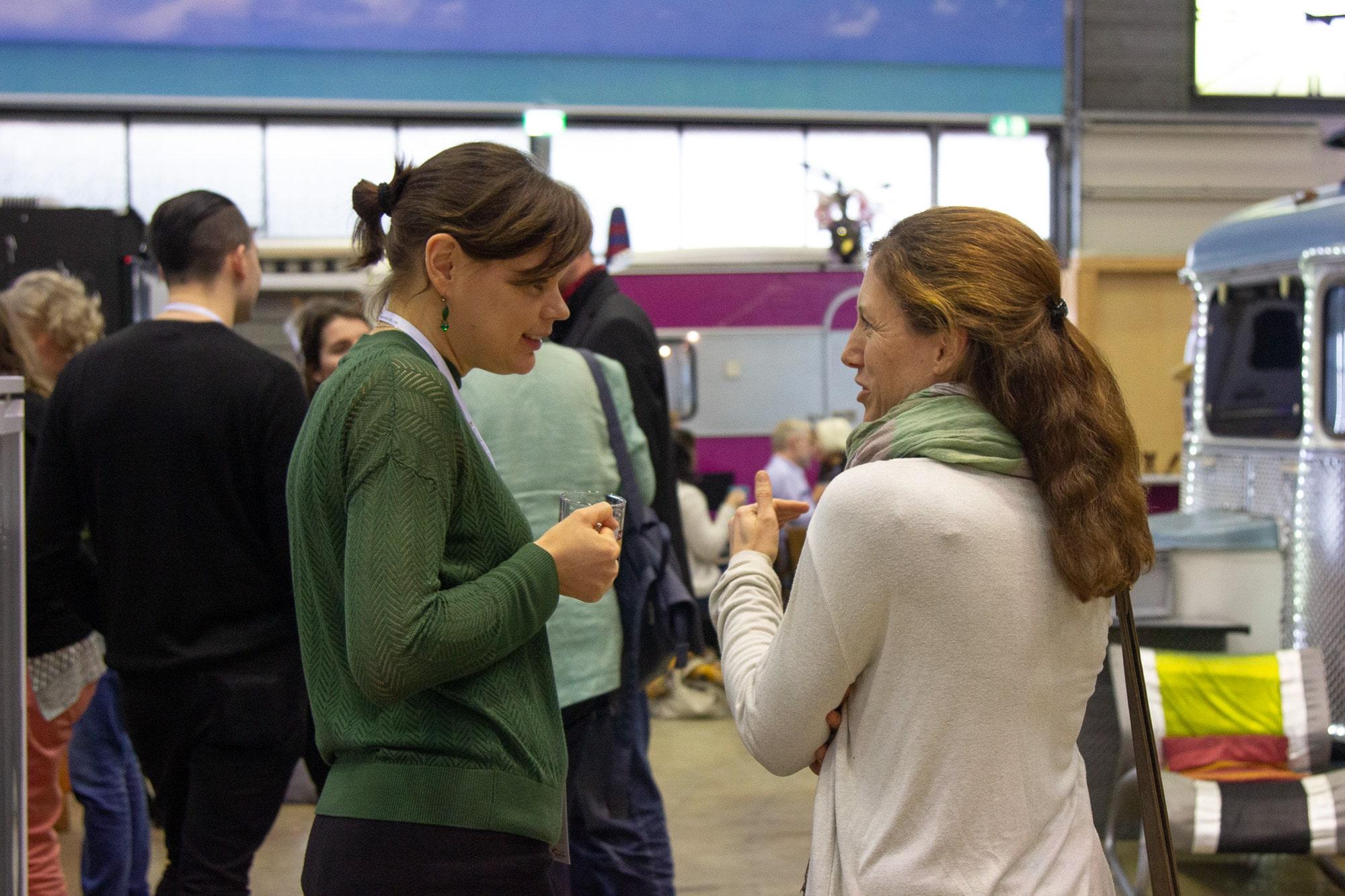 Teilnehmer des Sweetcamp des Süßstoff-Verband, Dialog, Eventmanagement