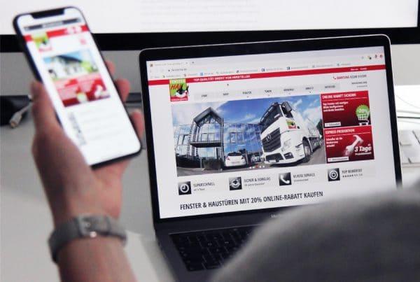 FensterHAI Website Mobile und Desktop