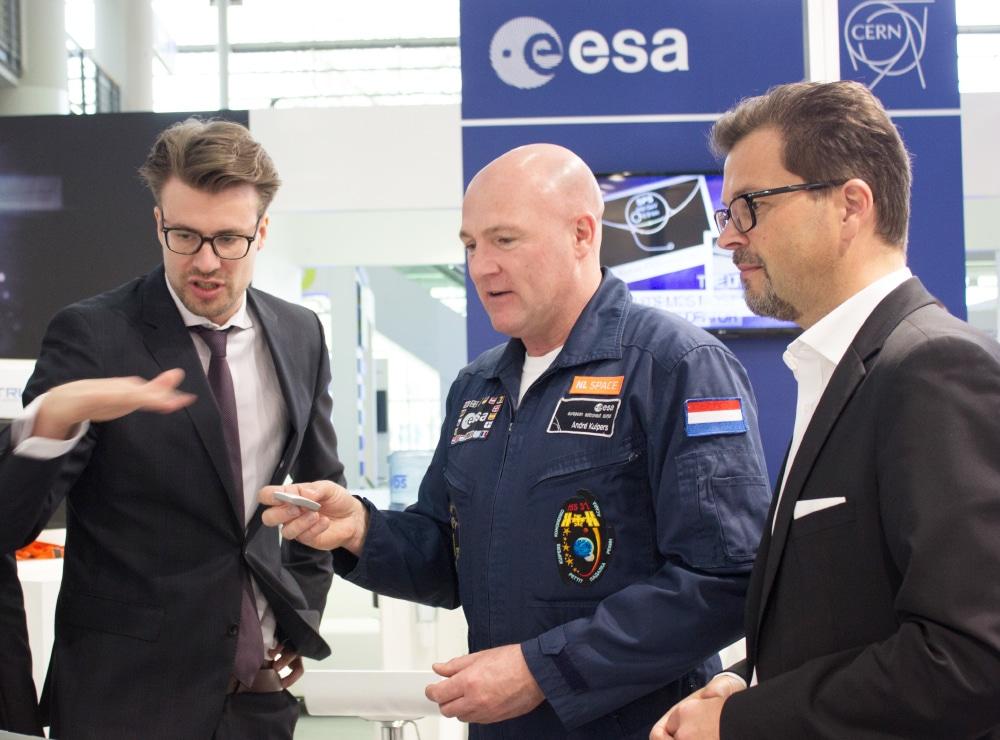 Europäische Weltraumorganisation ESA Messebau und Messe-PR