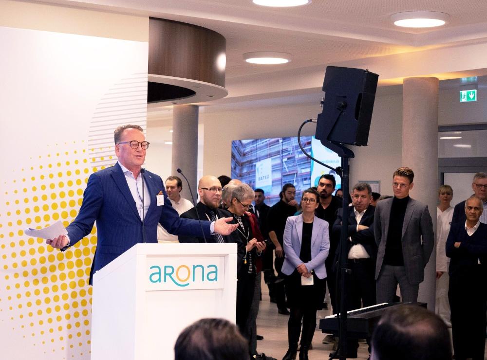 Pressekonferenz Aronaklinik