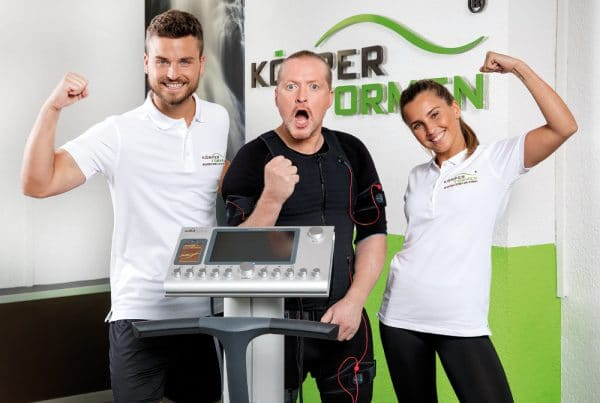 Körperformen Team mit Joey Kelly