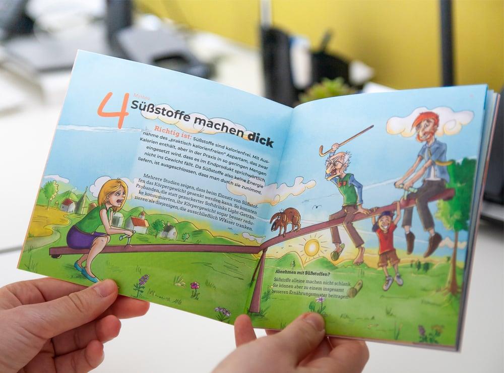 headerbild Süßstoff-Verband comic corporate publishing