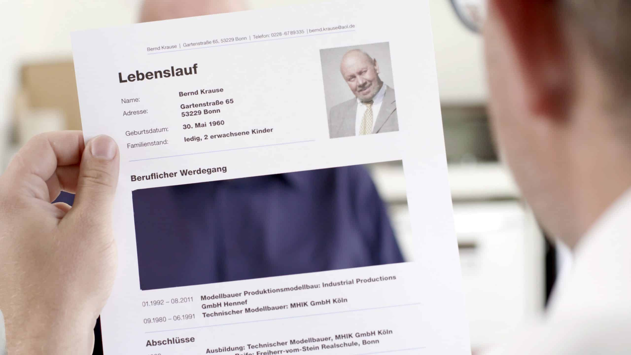 Mut zur Lücke Jobcenter Bonn Kinospot