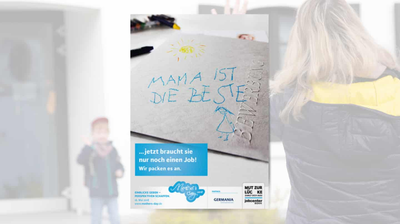 Arbeitgeberposter zum Mother's Day