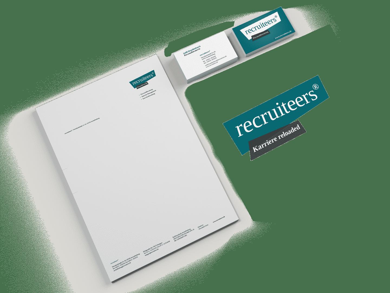 Branding Corporate Design recruiteers