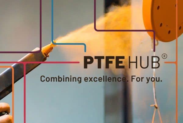 PTFE Hub Positionierung Mittelstand