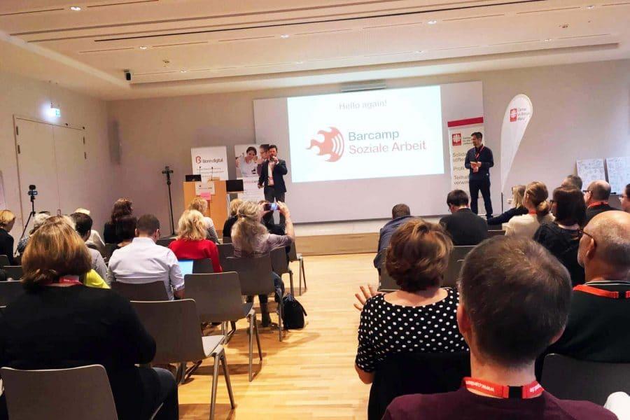 Vortrag beim Sozialcamp