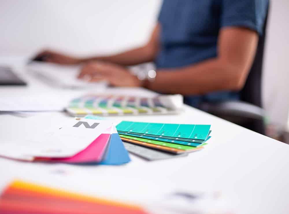 Designagentur Bonn Farbmuster
