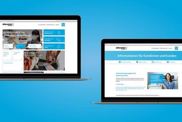 Jobcenter Bonn Website Relaunch
