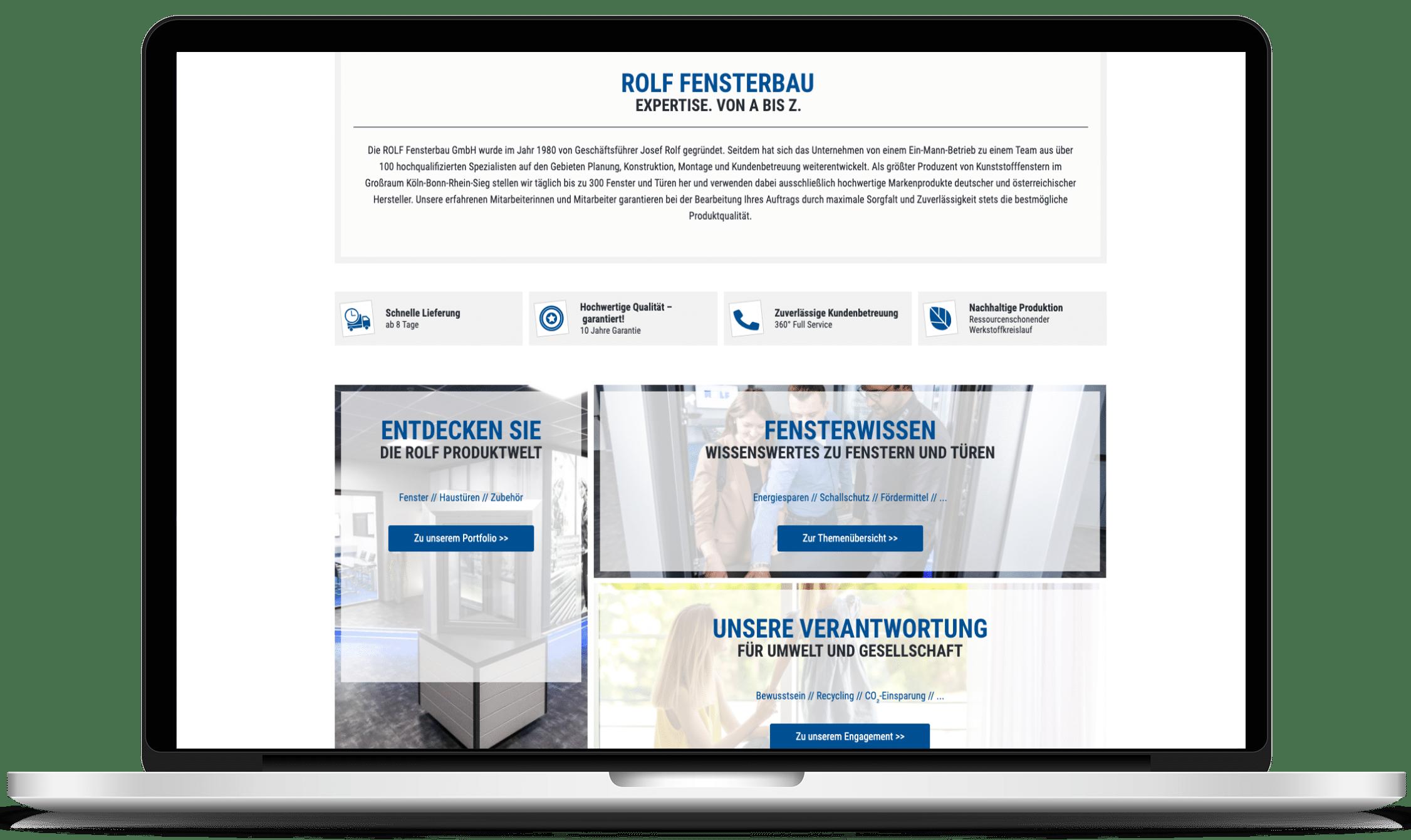 ROLF Website neu