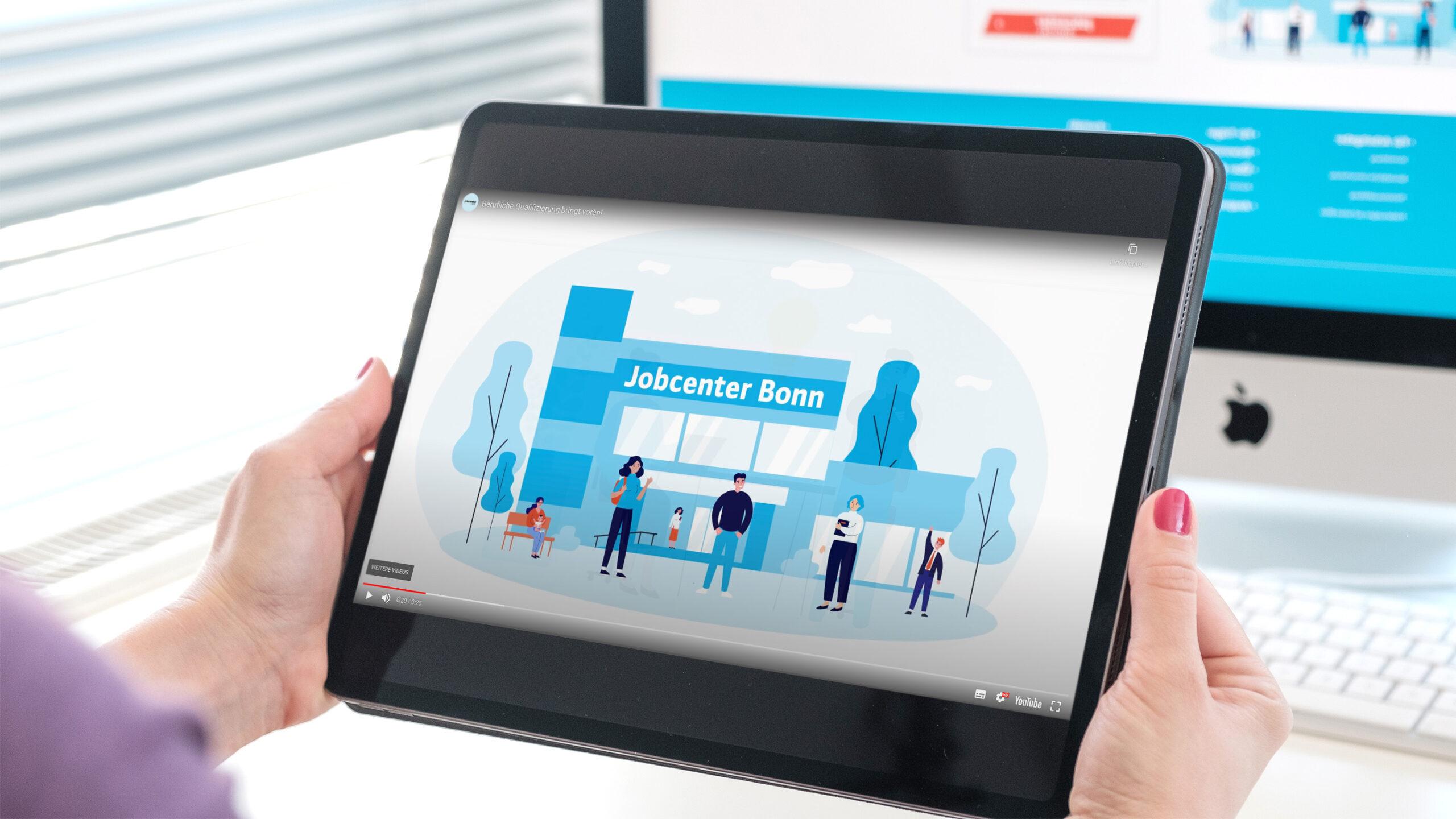 Jobcenter Erklär Video Desktop