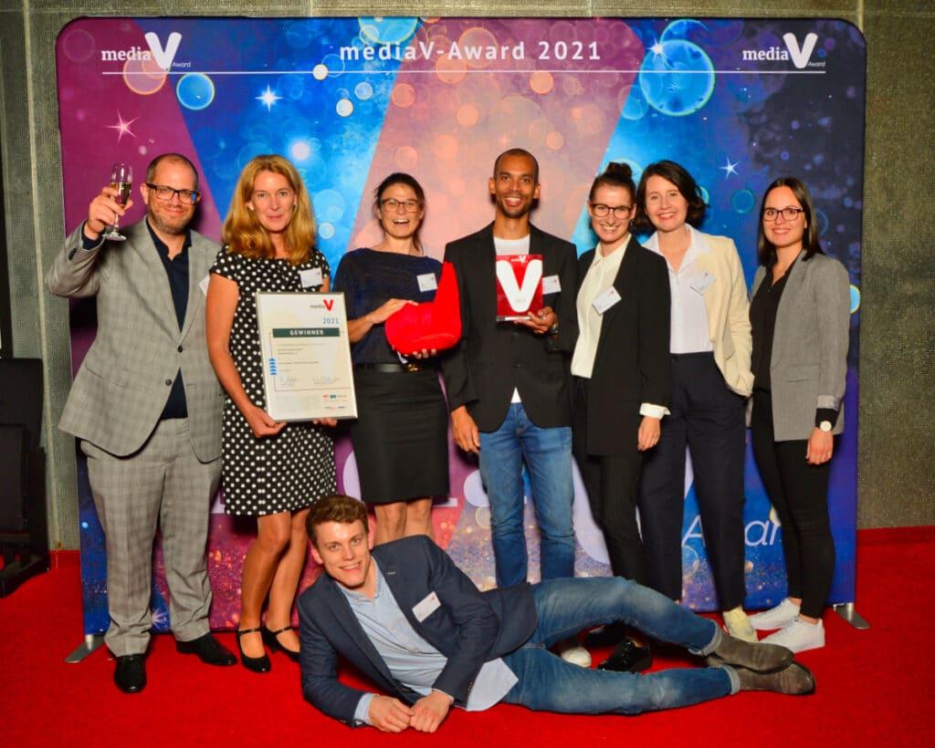 rheinland relations und Süßstoff-Verband gewinnen mediaV-Award 2021